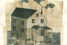 Print : engraving, lino, stamp...