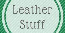 Leather stuff / Here is my inspiration board  - ideas for my leatherwork business.  Enough ideas to keep me going till I'm 100 years old !