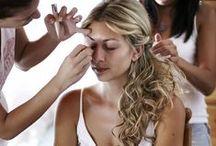 Bridal Hair & Makeup / www.mykonos-weddings.com, Bridal Beaute, Hair & Makeup for Brides, Mykonos Dream weddings