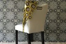 Chair Inspiration / Chairs, stool, benches, interesting designs. Design Is Inspired By Everything