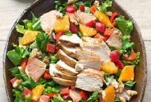 Salads / Salad recipes - everything from lettuce salad, vegetable salad, main course salad, Cobb salad, chicken salad, quinoa salad and more!