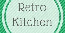Retro kitchen / Retro kitchen ideas for my daughters renovated house. She loves the retro style and I can remember it from the original times !