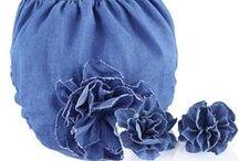 Alexa / calzoncito de mezclilla con aplicación en flor al igual que los calcetines!!