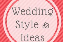 Wedding style and ideas / Dresses, shoes and flowery things for weddings  - elegance rules, but with a little quirkiness too ! Vintage and DIY ideas Included