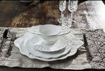 How To Set Your Table / Stunning table settings to suit all styles and seasons. Dinnerware Sets, Mugs, Inspiration Images, Gorgeous Colors, Colours & Tea Time favourites.