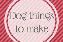 Dog Things to Make Yourself / There's lots of things here to make, some have a pattern in the post, others are just so easily made yourself from the photos. And your dog will love it, whatever it is if you've made it just for them. !