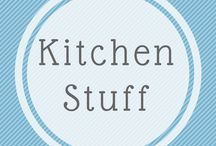 Kitchen Stuff / A kitchen doesn't need to be too shiny and bright, just super efficient without wasting space. Drawers are so much easier to use than cupboards too! Just add a little bit of classic elegance without fussiness.