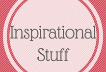 Inspirational stuff / Just a board for all the quotes and sayings that might help to make things better sometimes. Works for me !!