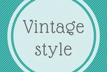 Vintage Style / Vintage for me any day of the week, especially for  real  people in proper sizes !