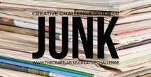 Junk / Are you spending too much time in front of the computer and want to get in touch with your creative side? We would love it if you joined us our 12-month creative challenge!