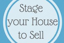 House Staging  to sell / So many of us are trying hard to move on, but just don't see our houses they way the buyers do, so we're missing out. Heres some thoughts and help.