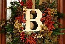 wreaths / by Bea Ihasz Brown