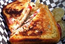 The Goods: Grilled Cheeses and Treats / 4 mobile food trucks. 3 are serving up the finest melt in your mouth classic grilled cheese sandwiches and 1 truck is reserved for fun parties and events!