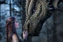 Fairies & Dragon's / by Rene' Vacek