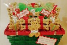Holiday Gifts for pets! / Customized/Personalized treat baskets for pets