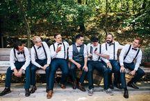 Groomsmen / Inspiration for rustic groomsmen attire