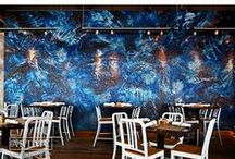 Restaurant Mosaics / A collection of Artaic's custom restaurant mosaics.