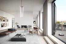 Interior ° / Industrial x Scandinavian x Retro-futuristic