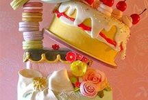 Cake Design ideas / What can a pinch of sugar , the expert hands and imagination ?