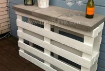 Pallet ideas / Various uses of pallets.  Thanks to all contributors for photos