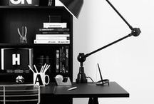 work space / Find inspiration for your home office. Work spaces for creatives.