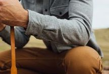 Men's Style / Casual, rugged style - men's clothes and apparel