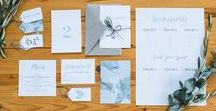 My Wedding Stationery Shop / Offering minimal, hand lettering wedding stationery sets to customize in my shop.