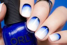 Nail Art Ideas / The best nail art ideas to get your creative juices flowing! See more: http://sonailicious.com/category/nail-art/