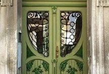 Doors, entrances