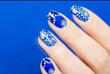 Australia Day Nails / Beautiful Australia Day nails. See more: http://sonailicious.com/tag/australia-day/