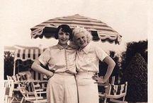 Sea Side / 1920s and 30s Beach Pajamas and lounge wear
