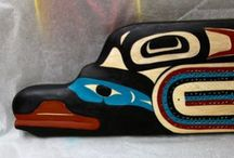 Tsimshian/Nisga'a My Children's Tribes :-) / by Elaine Wrinkle