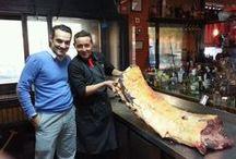 Nuestros bueyes argentinos / La mejor carne en el Restaurante Malambo's