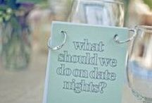 Engaging Dinner Hour Ideas / It's all about engaging your guests from the moment they arrive at your reception.   Here are some great pins and ideas to engage your guests during the dinner portion of your Wisconsin Wedding Reception