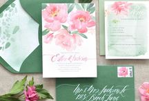 Pink and Green Wedding Inspiration