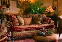 Eclectic, Bohemian Decorating