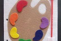 Bimbi 0-24 mesi / Cartamodelli ed idee per quiet book, giochi per bimbi molto piccini