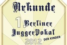 Jugger Urkunden / Urkunden von verschiedenen Juggerturnieren