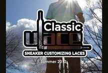 Summer 2013 / Summer 2013 Classic U-Lace Sneaker Customizing Laces Color Your World