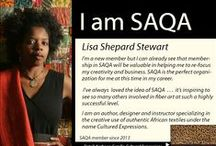 I AM SAQA / SAQA is comprised not just of artists, but also teachers, collectors, gallery owners, museum curators,  business owners, and individuals eager to support the arts. These profiles of SAQA members illustrate just how important SAQA membership is around the world.