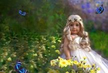 Beautiful Doll Photography / Fun collection of art, nature, dolls and more. What we love to see.