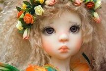 Beautiful Mystical Doll Photography / Elf dolls, fairy dolls, garden photos and more.