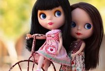 Blythe in Nature - Country loving Blythe / Blythe Dolls in Nature - Country loving Blythe
