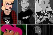☆ Childhood of a little girl .. ☆ / Disney, fairy tales , princesses.. you get the point.. :)