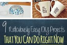 Frugal DIY & Crafts / Easy and AFFORDABLE DIY's for college students on a budget.