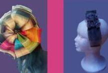 My Headdresses,hats and broochs / Tocados diseñadora Patricia Chávarri www.abasapa.com