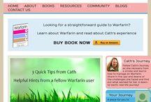 Website - www.eatonwarfarin.com / Website for fellow warfarin users to share info on warfarin