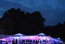 Stretch tent marquees / Stretch tents create a great atmosphere and are by far one of the most pleasing to the eye style of marquees out there.