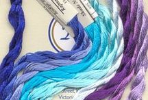 Needlepoint Fibers & Other Supplies