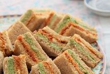 FOTO - MINI TEA SANDWICHES